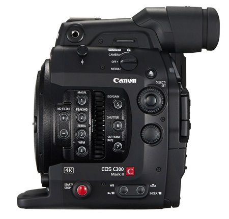 Canon EOS C300 Mark II Digital Cinema Camera