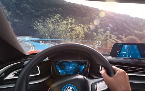 BMW, CES 2016, auto, automobil, vozidlo, BMW Group, BMW i Vision Future Interaction, Connected Car, IoT, BMW Connected, BMW ConnectedRide, BMW i 8 Mirrorless,