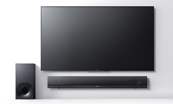 Sony, CES 2016, audio, soundbar, sound base, AV prijímač, HT-NT5 Sound Bar, HT-NT5, HT-CT790 Sound Bar, HT-CT790, HT-CT390 Sound Bar, HT-CT390, HT-XT2 Sound Base, HT-RT3, HT-XT2, STR-DN1070, STR-DH770, technológie, novinky, inovácie, technologické novinky