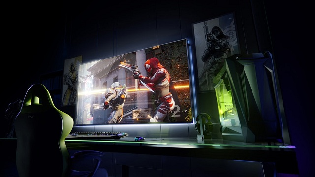 65 palcový 4K herný monitor Nvidia Big Format Gaming Display (BFGD).