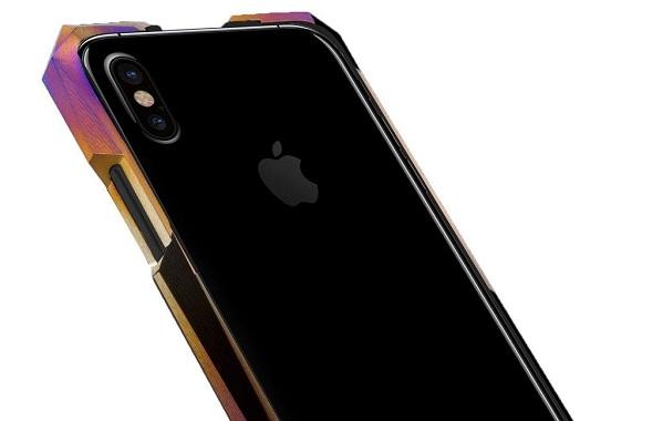 Titánový ochranný kryt Advent Aurora pre Apple iPhone X je drahší ako  samotný smartfón. 53c30203362