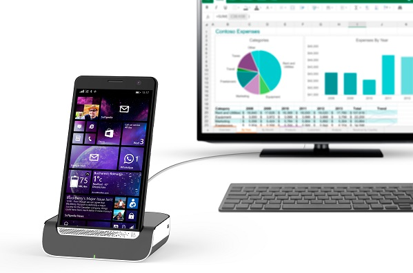 desktop, Elite x3, HP, HP Desk Dock, HP Elite x3, HP Inc., HP Office 250 Mobile All-in-One Printer, HP OfficeJet 200 Mobile Printer, Mobile Extender, notebook, phablet, tlačiareň, USB-C, Windows 10, MWC 2016, technológie, novinky, inovácie, technologické novinky, recenzie, prvé dojmy