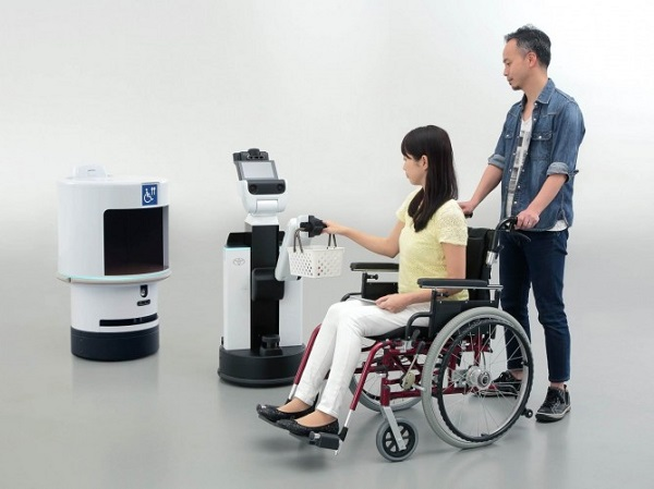Delivery Support Robot a Human Support Robot.