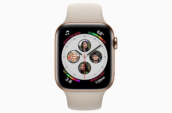 Inteligentné hodinky Apple Watch Series 4.