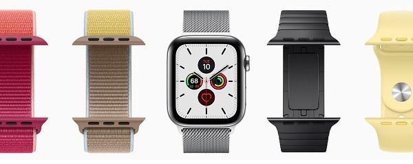 Inteligentné hodinky Apple Watch Series 5.